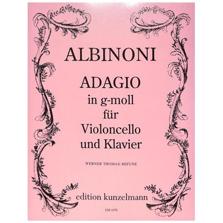 Albinoni, T.: Adagio g-Moll