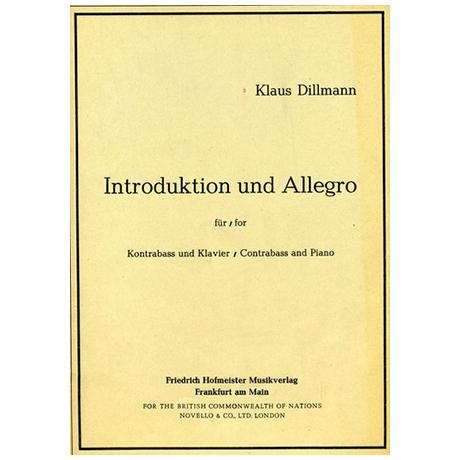 Dillmann, K.: Introduktion und Allegro