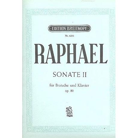 Raphael, G.: Violasonate Nr. 2 Op. 80