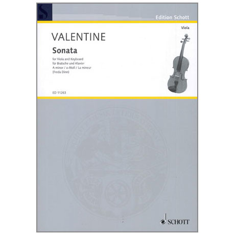 Valentine, R.: Violasonate Nr. 9 a-Moll