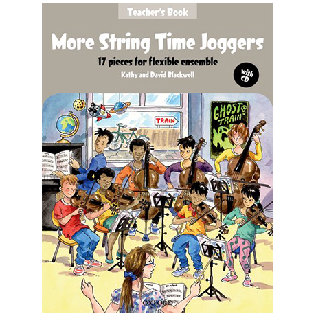 Blackwell, K. & D.: More String Time Joggers – Teacher's Book (+CD)