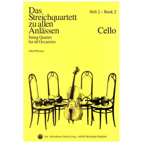 Das Streichquartett zu allen Anlässen Band 2 – Violoncello