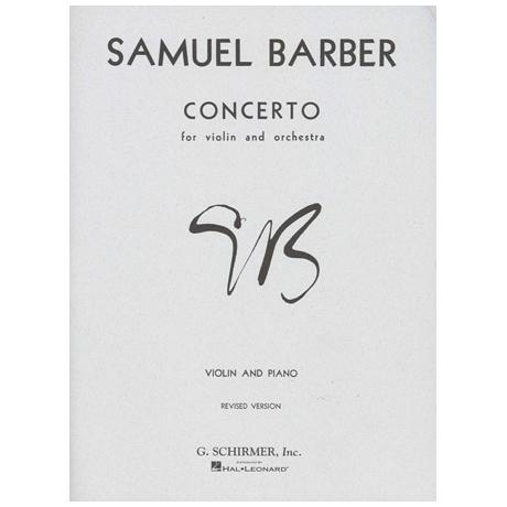 Barber, S.: Violinkonzert Op. 14