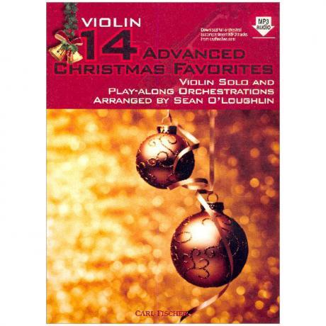 14 Advanced Christmas Favourites (+Online Audio)