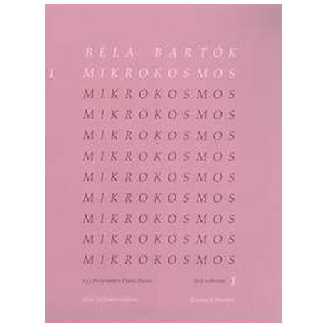 Bartók, B.: Mikrokosmos Band 1