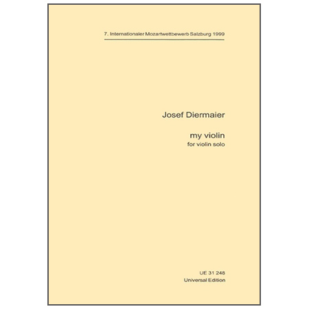 Diermaier, J.: My Violin