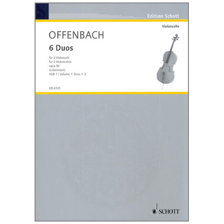 Offenbach, J.: 6 Duos Op. 50 Band 1