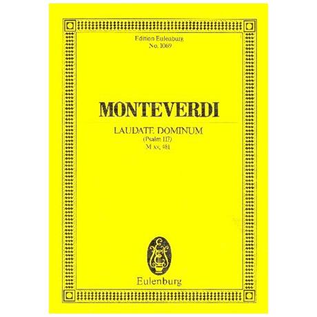 Monteverdi, C.: Laudate Dominum M xv, 481