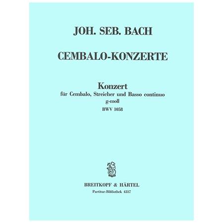 Bach, J. S.: Cembalokonzert c-Moll BWV 1060