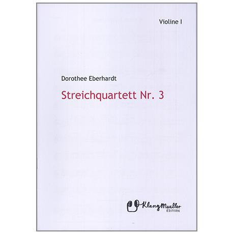 Eberhardt, D.: Streichquartett Nr. 3 – Stimmensatz