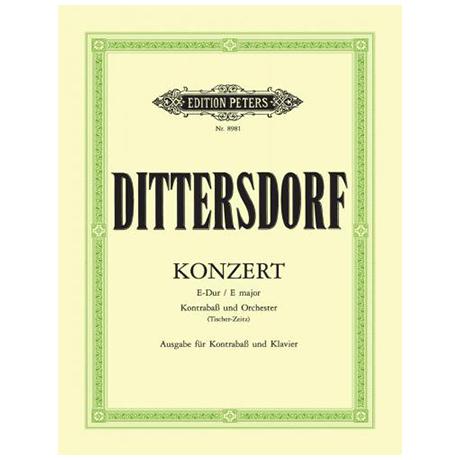 Dittersdorf: Konzert E-Dur für Kontrabass und Orchester