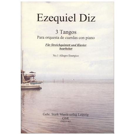 Diz, E.: Tango Nr. 1 aus 3 Tangos für Streichorchester und Klavier