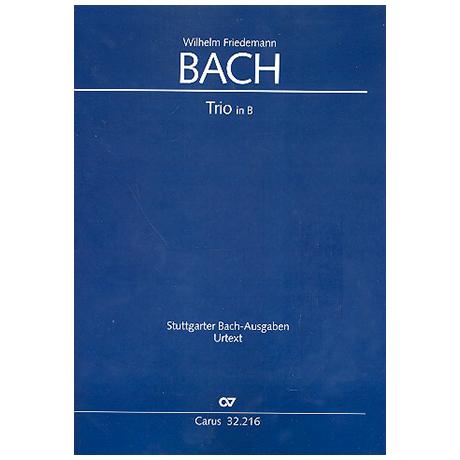 Bach, W. F.: Trio B-Dur