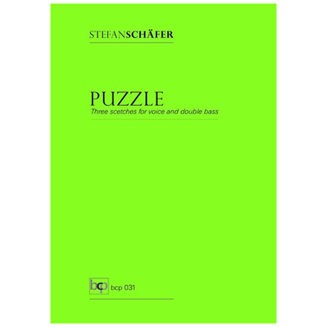 Schäfer, S.: Puzzle – Three scetches