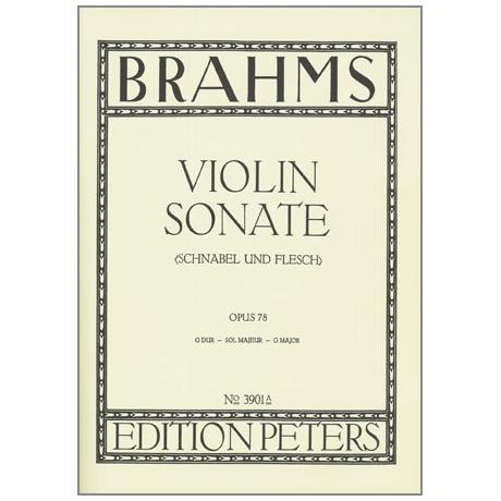 Brahms, J.: Violinsonate Op. 78 G-Dur