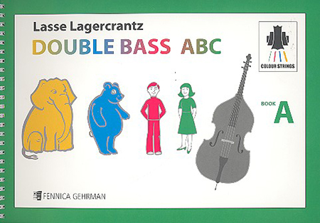 Colourstrings Double Bass ABC Book A