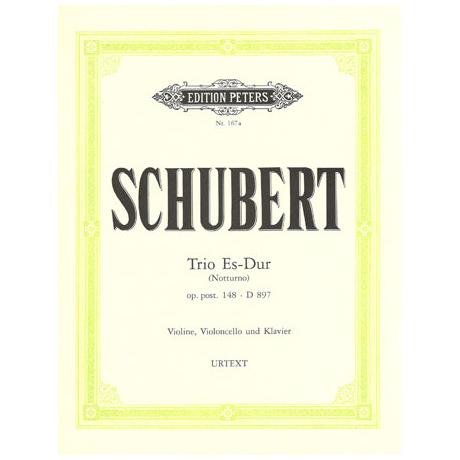 Schubert, F.: Klaviertrio Op. posth. 148 D 897 Es-Dur (Notturno)