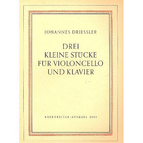 Driessler, J.: Drei kleine Stücke Op. 8 Nr. 1 (1948)