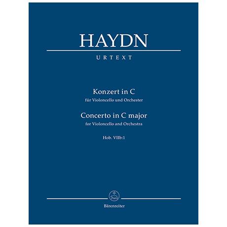 Haydn, J.: Konzert für Violoncello und Orchester C-Dur Hob. VIIb:1