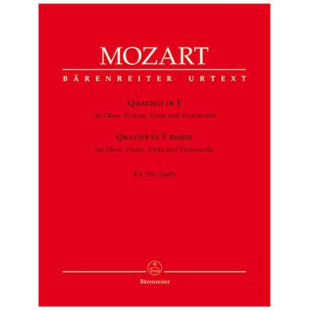 Mozart, W. A.: Quartett KV 370 (368b) F-Dur
