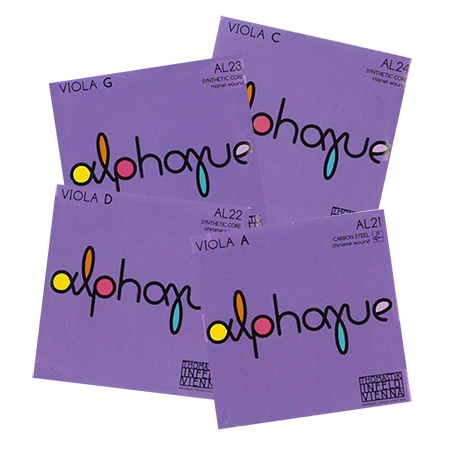 THOMASTIK Alphayue viola strings SET