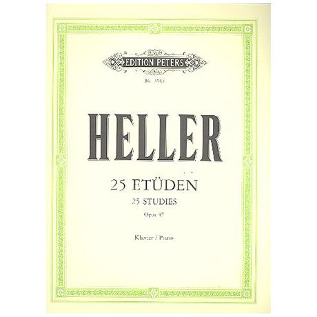 Heller, S.: 25 Etüden Op. 47