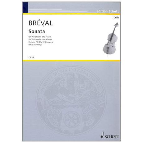 Bréval, J. B.: Violoncellosonate Op. 40 C-Dur