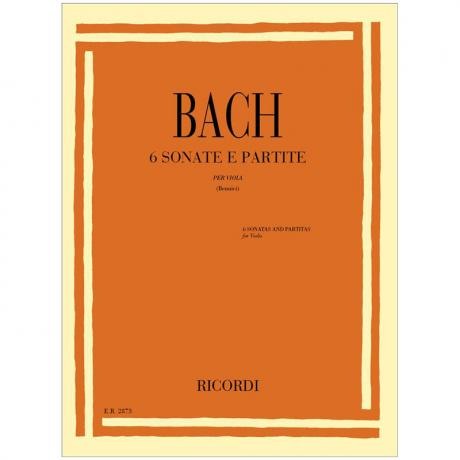 Bach, J. S.: 3 Sonaten und 3 Partiten BWV 1001-1006