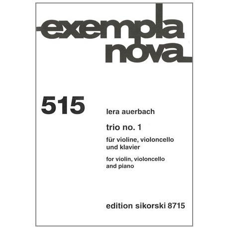 Auerbach, L.: Klaviertrio Nr. 1 (1992/94)