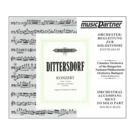 Dittersdorf: Konzert E-Dur für Kontrabass und Orchester (+CD)