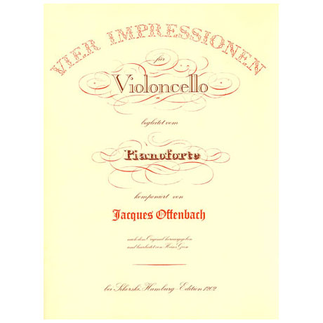 Offenbach, J.: 4 Impressionen