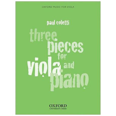 Coletti, P.: 3 Pieces
