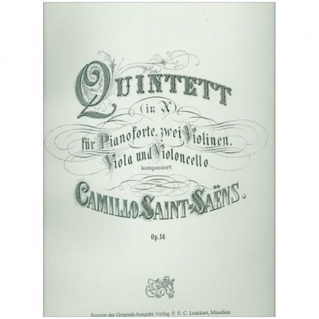 Saint-Saëns, C.: Klavierquintett Op. 14 A-Dur
