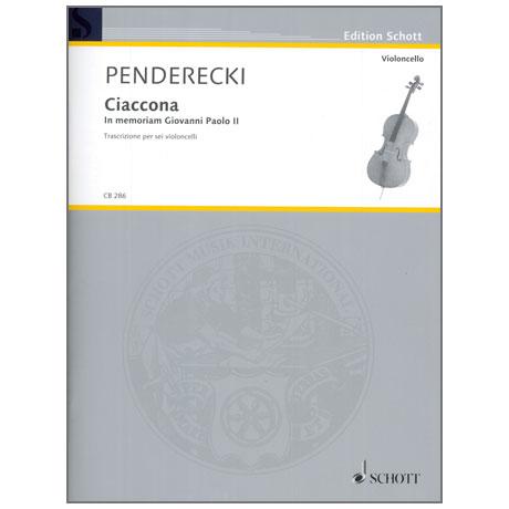 Penderecki, K.: Ciaccona – In memoriam Giovanni Paolo II