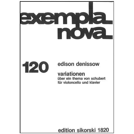 Denissow, E.: Variationen über ein Thema von Schubert