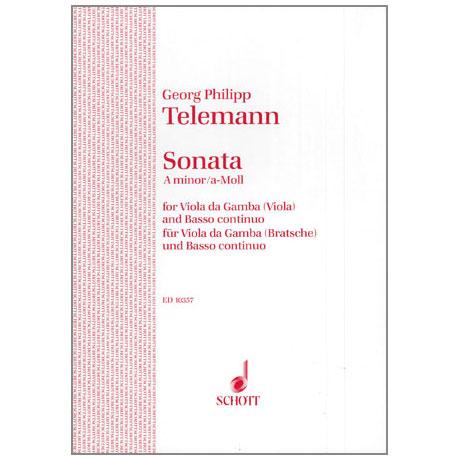 Telemann, G. Ph.: Violasonate TWV41: a 6 a-Moll