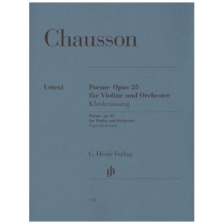 Chausson, E.: Poème Op. 25 Urtext