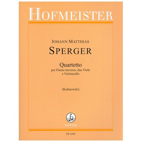 Sperger, J.M.: Quartetto