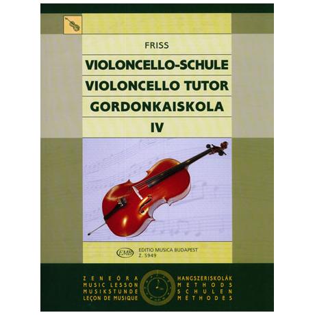 Friss, A.: Schule für Violoncello Band 4