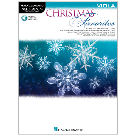 Christmas Favorites for Viola (+Online Audio)