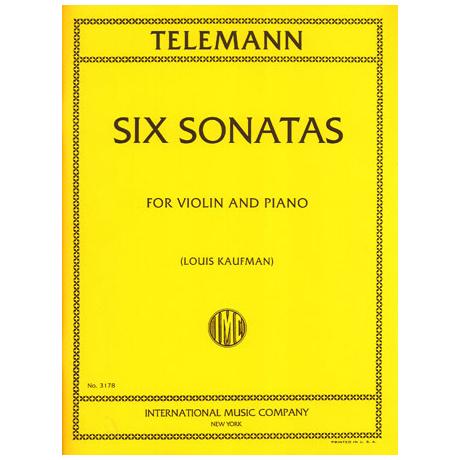 Telemann, G. Ph.: 6 Violinsonaten