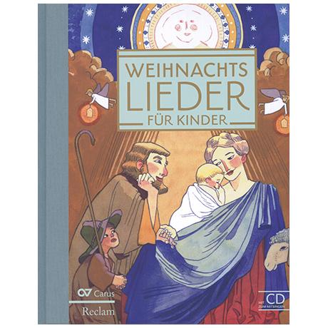 Weihnachtslieder für Kinder (+CD)
