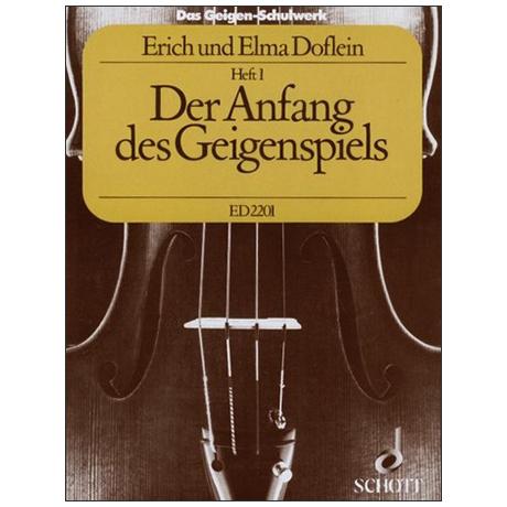 Doflein, E.: Das Geigen-Schulwerk Band 1 (alte Ausgabe)