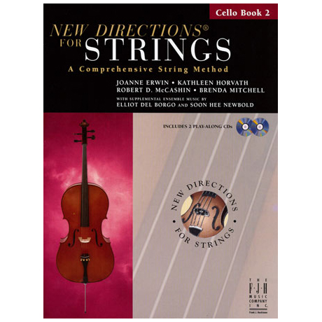 New Directions for Strings - Cello Book 2 (+CD)