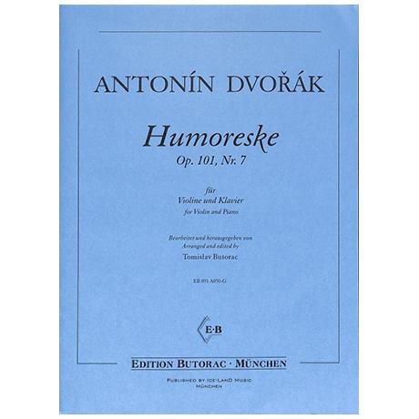 Dvořák, A.: Humoreske Op. 101/7