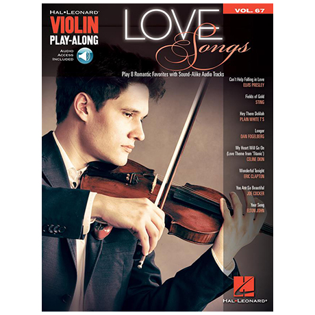 Love Songs for Violin (+Online Audio)