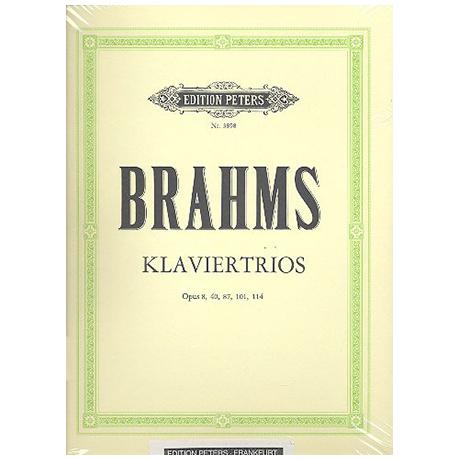 Brahms, J.: Sämtliche Klaviertrios