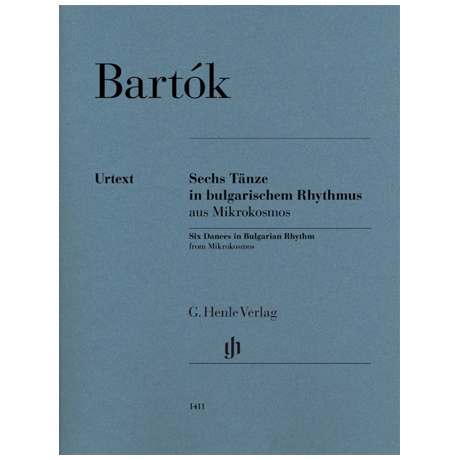 Bartók, B.: Sechs Tänze in bulgarischem Rhythmus aus Mikrokosmos