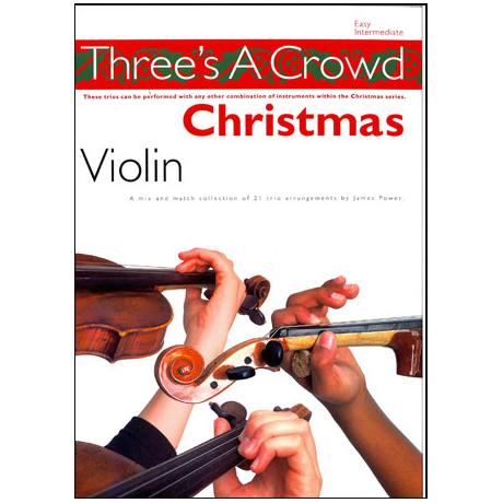 Three's A Crowd - Christmas Violin
