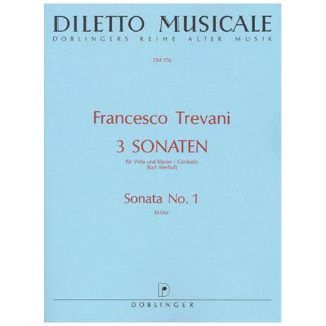 Trevani, F.: Violasonate Nr. 1 Es-Dur